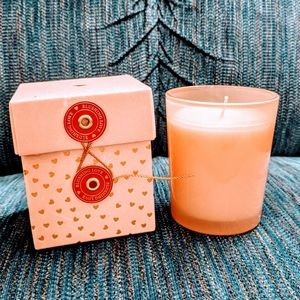 NWT Opalhouse Blushing Love votive candle with box